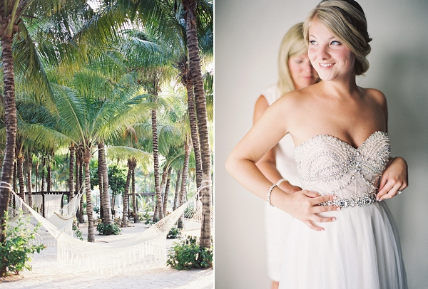 Bride Getting Ready | Riviera Maya Mexico Beach Wedding By Kayla Barker Fine Art Photography