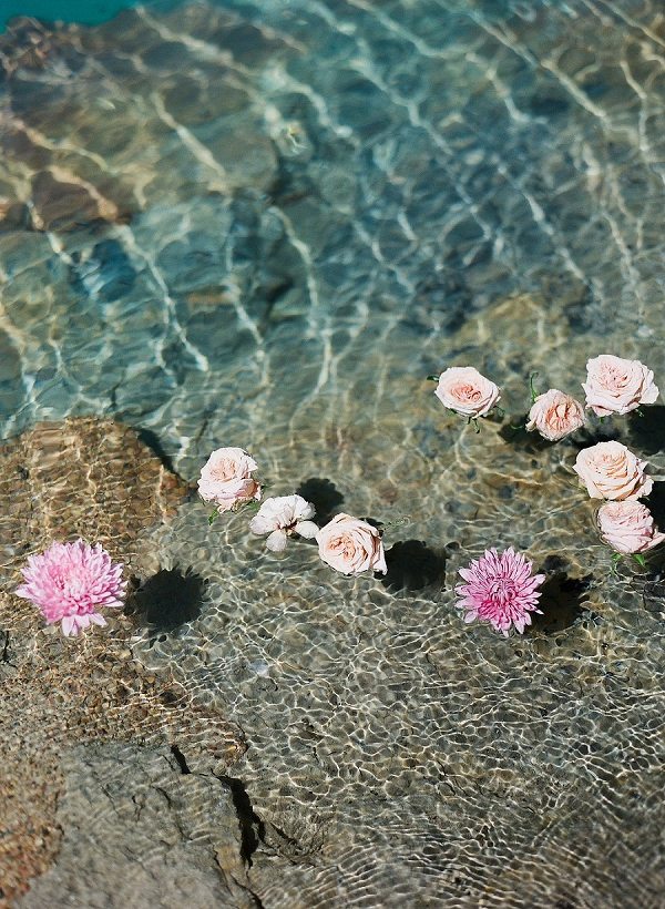 Flowers in the Sea | Sultry Summertime Elopement Inspiration by Leighanne Herr Photography