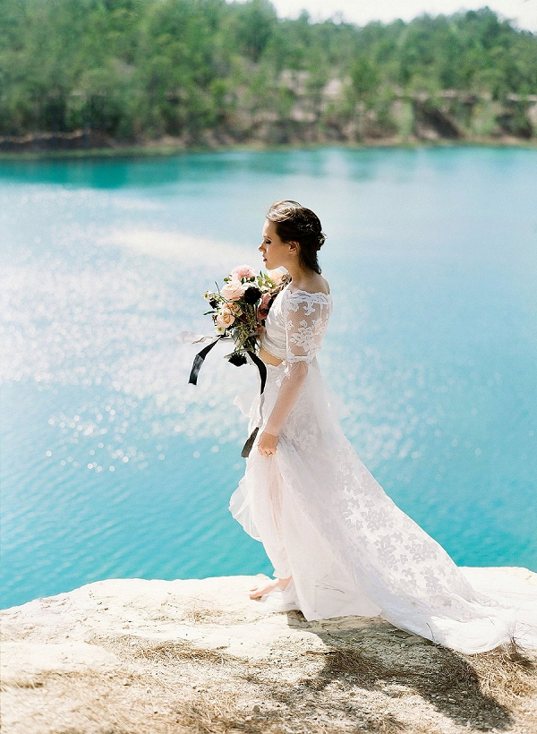 Bride | Sultry Summertime Elopement Inspiration by Leighanne Herr Photography