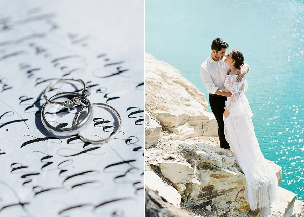 Bride and Groom | Sultry Summertime Elopement Inspiration by Leighanne Herr Photography