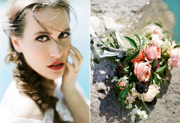 Bridal Makeup | Sultry Summertime Elopement Inspiration by Leighanne Herr Photography