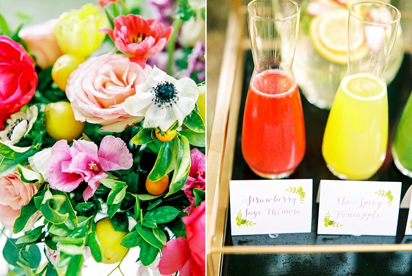 Colorful Palette | Colorful Summer Bridal Brunch Editorial by Dyan Kethley Photography