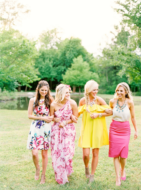 Vibrant Palette | Colorful Summer Bridal Brunch Editorial by Dyan Kethley Photography