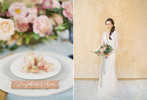 Place Setting | Villa Di Baci Editorial from Lynette Boyle Photography