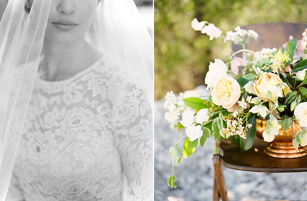 Floral Centerpiece | Rustic and Organic Wedding Inspiration from Keestone Events and Ben Q Photography