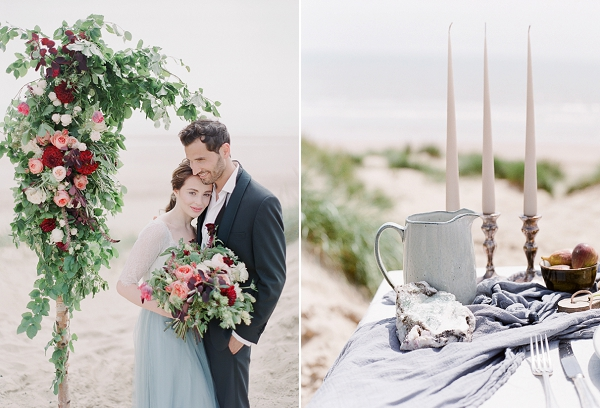 Fine Art Elopement Inspiration   A Coastal Editorial Inspired by Shakespeare from Julie Michaelsen Photography