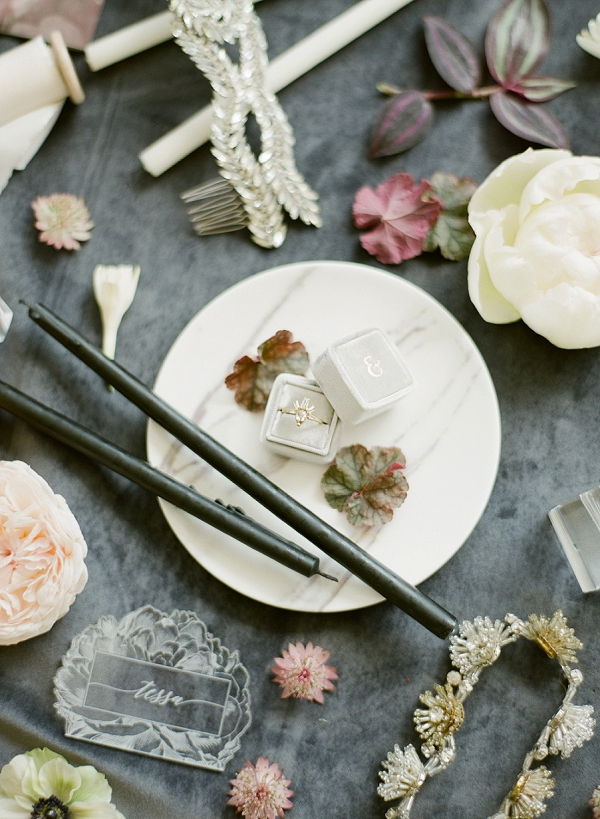 Wedding Ring | Floral Inspired Wedding Ideas from Kristen Beinke Photography