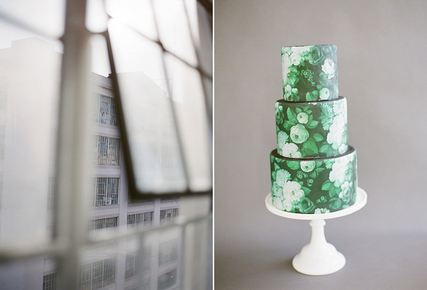 Floral Wedding Cake | Floral Inspired Wedding Ideas from Kristen Beinke Photography