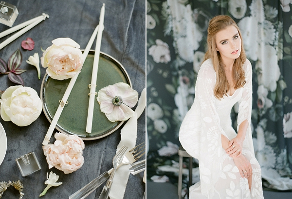 Bridal Hair and Makeup Inspiration | Floral Inspired Wedding Ideas from Kristen Beinke Photography