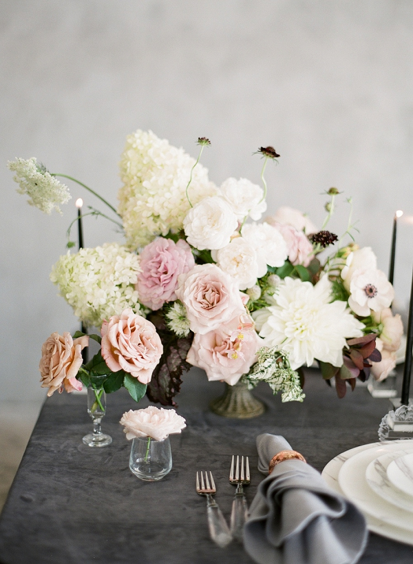 Floral Centerpieces | Floral Inspired Wedding Ideas from Kristen Beinke Photography