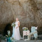 Beach Bridal Portrait Ideas | Malibu Seaside Inspired Bridal Editorial by Jeremy Chou Photography