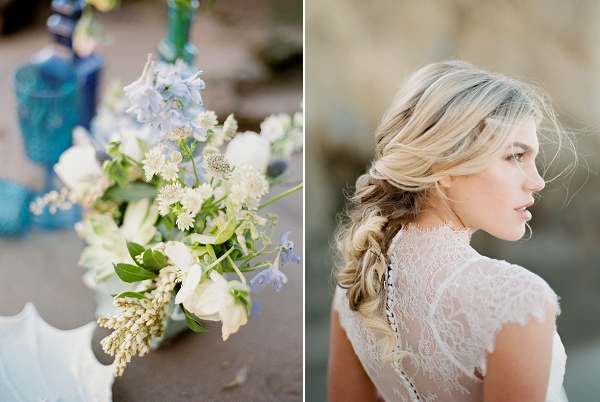 Beach Wedding Hair | Malibu Seaside Inspired Bridal Editorial by Jeremy Chou Photography