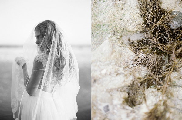 Bridal Veil | Malibu Seaside Inspired Bridal Editorial by Jeremy Chou Photography
