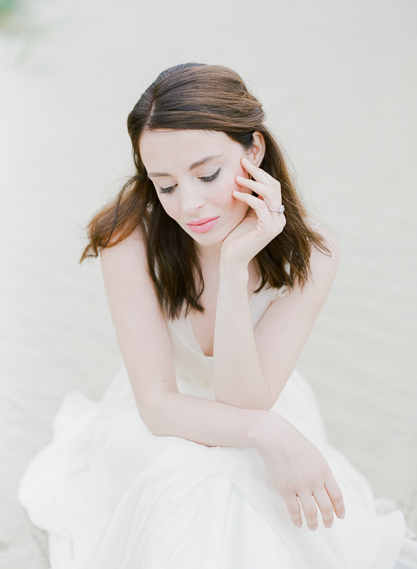 Bride   Romantic Coastal Editorial Inspired by Shakespeare from Julie Michaelsen Photography