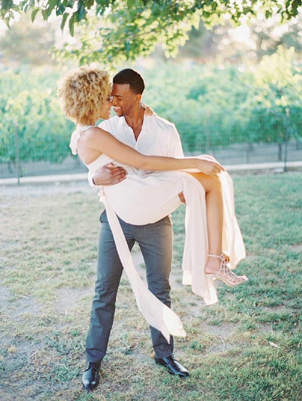Bride and Groom Elopement | Romantic Vineyard Elopement Inspiration by Gaby J Photography