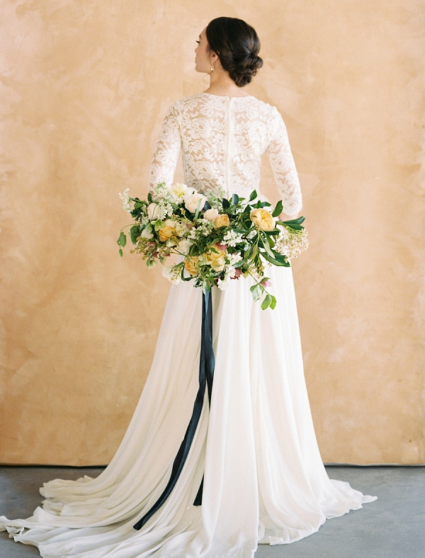 Romantic Bouquet | Rustic and Organic Wedding Inspiration from Keestone Events and Ben Q Photography