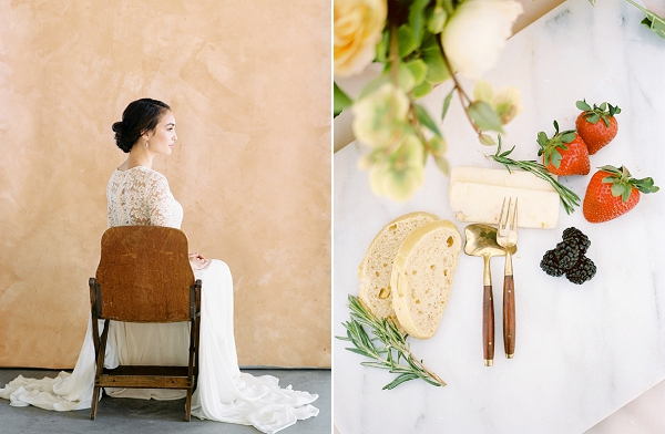 Fruit and Cheeses | Rustic and Organic Wedding Inspiration from Keestone Events and Ben Q Photography