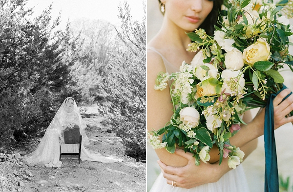 Yellow Bouquet | Rustic and Organic Wedding Inspiration from Keestone Events and Ben Q Photography