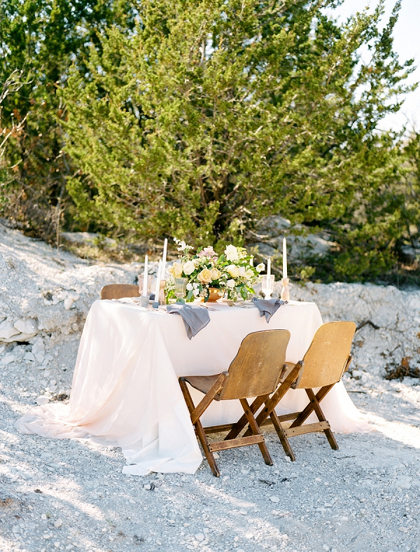Outdoor Tablescape | Rustic and Organic Wedding Inspiration from Keestone Events and Ben Q Photography