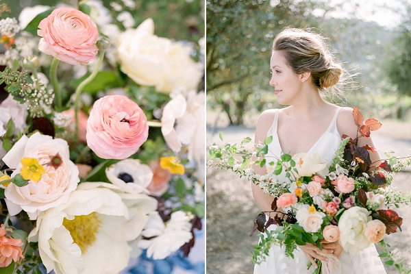 Ivory and Pink Florals | Summer Garden Wedding Inspiration from Kate Anfinson Photography and Gigi Mallatt Events