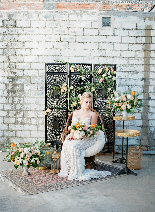 Summer Palette   Summer Wedding Inspiration With An Industrial Vibe from Kate Pease Photography and Grit + Gold Weddings