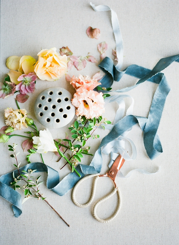 Flowers   Summer Wedding Inspiration With An Industrial Vibe from Kate Pease Photography and Grit + Gold Weddings