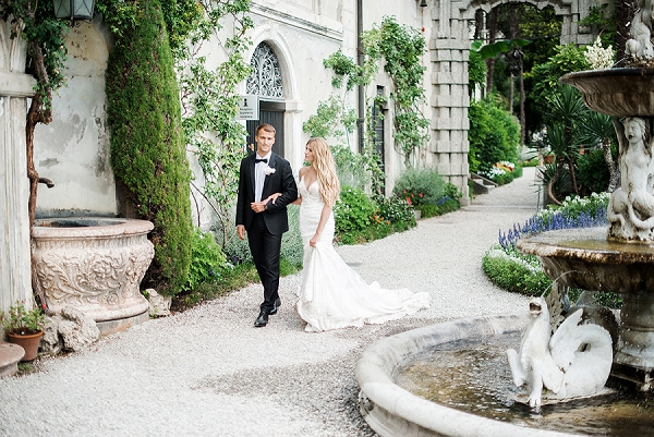 Bride and Groom | A Sunny Wedding Celebration In Lake Como from WeddItaly and Olena Galaziuk Photography