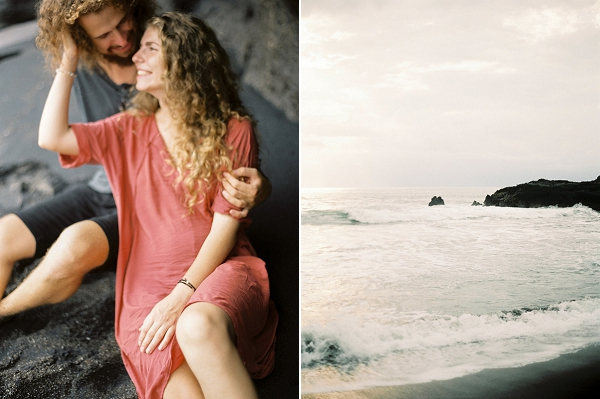 Beach Engagement Session in Bali | Relaxed and Dreamy Bali Engagement Session by Elena Pavlova