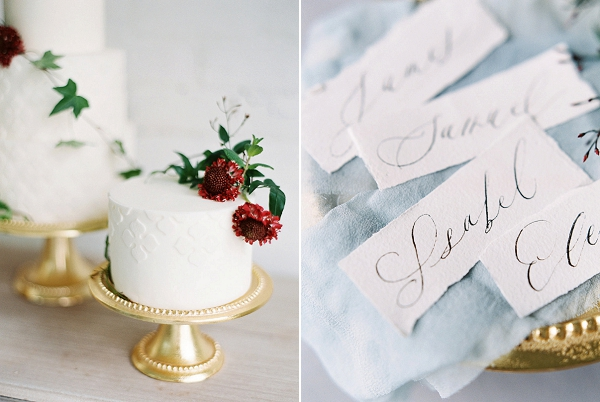 Wedding Cake with Texture | Modern Classic Wedding Ideas from Kristine Herman Photography