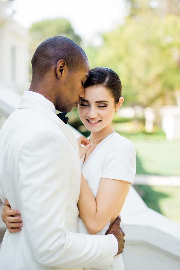 Bride and Groom Portrait | Modern Elopement Inspiration by Booth Photographics