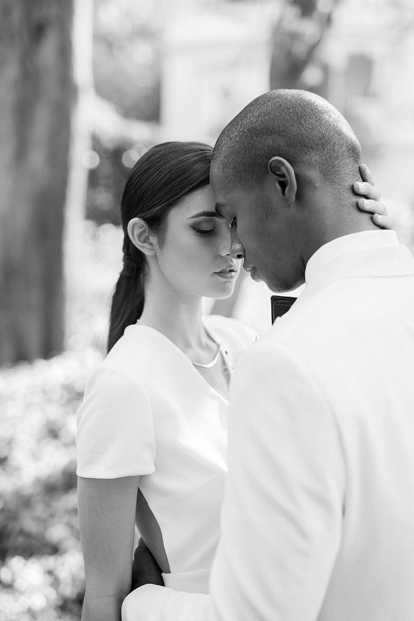 Bride and Groom | Modern Elopement Inspiration by Booth Photographics