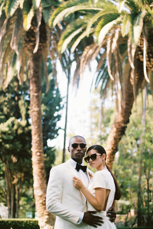Chic Bride and Groom | Modern Elopement Inspiration by Booth Photographics
