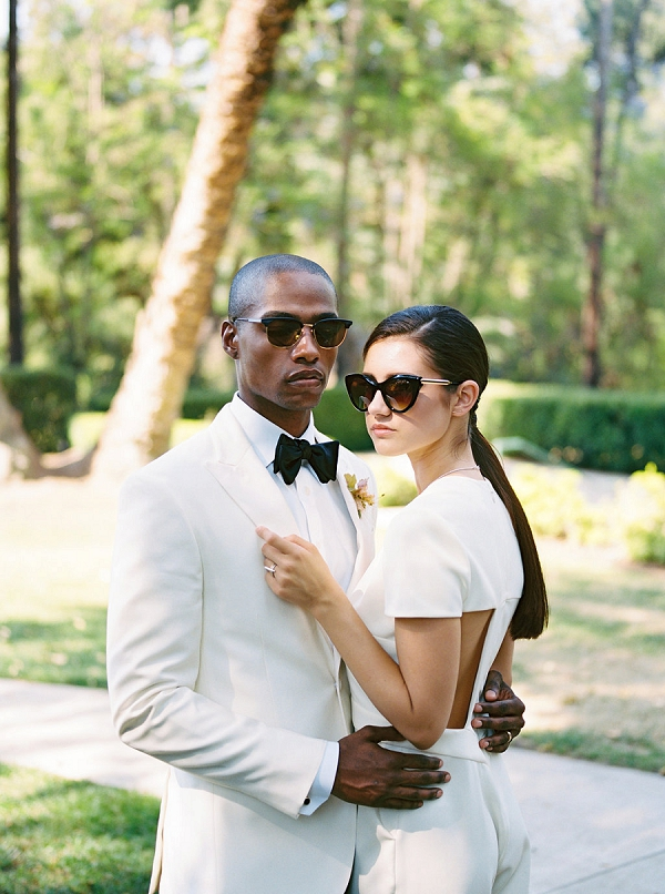 Effortlessly Chic Bride and Groom | Modern Elopement Inspiration by Booth Photographics
