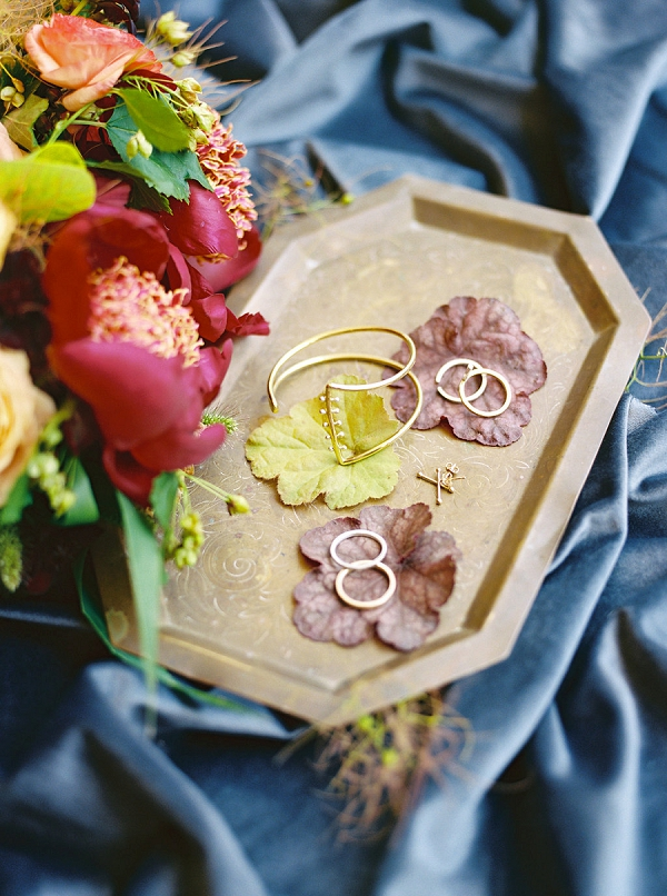 Bridal Jewelry | Modern Elopement Inspiration by Booth Photographics