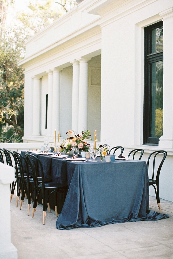 Tablescape | Modern Elopement Inspiration by Booth Photographics