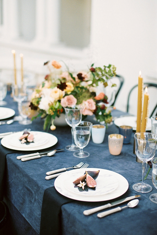 Romantic Tablescape | Modern Elopement Inspiration by Booth Photographics