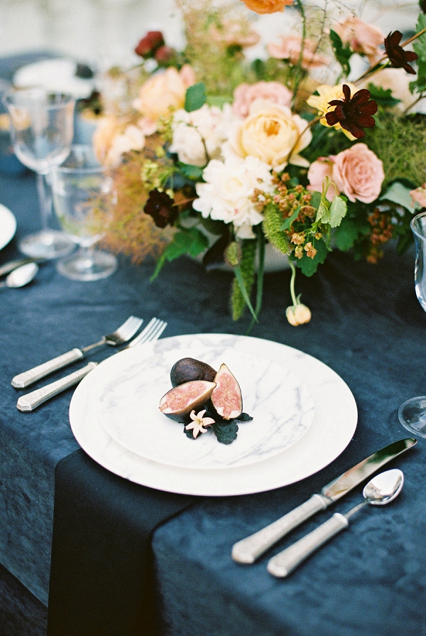 Place Setting | Modern Elopement Inspiration by Booth Photographics
