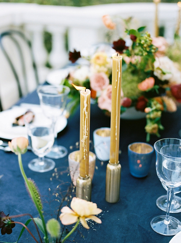 Candles | Modern Elopement Inspiration by Booth Photographics