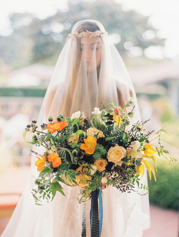 Lush Bouquet | Romantic Early Morning Bridal Inspiration by Kristin La Voie Photography