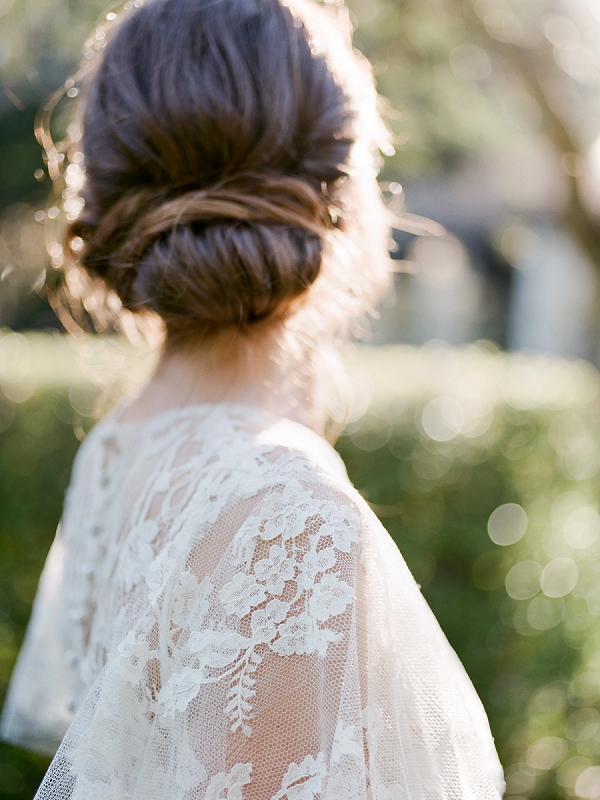 Updo | Secret Garden Wedding Insiration by Kate Anfinson Photography and Natalie Choi Events