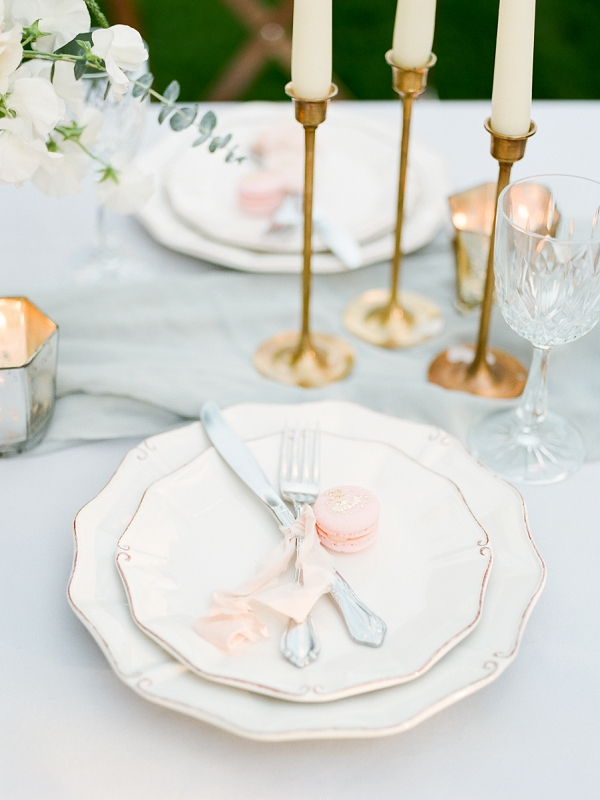Place Setting | Secret Garden Wedding Insiration by Kate Anfinson Photography and Natalie Choi Events