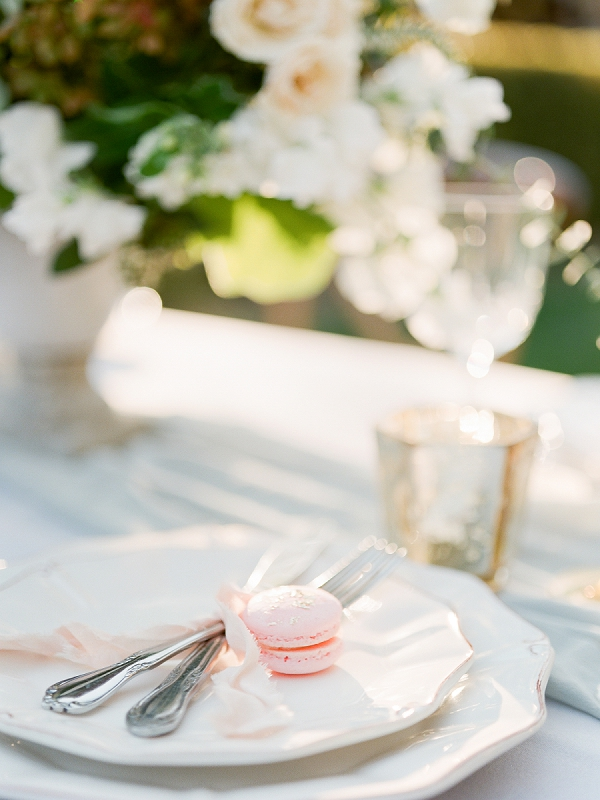 Macarons | Secret Garden Wedding Insiration by Kate Anfinson Photography and Natalie Choi Events