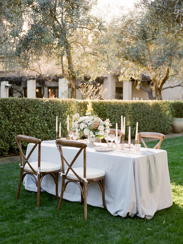 Tablescape | Secret Garden Wedding Insiration by Kate Anfinson Photography and Natalie Choi Events