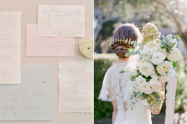Classic Bouquet | Secret Garden Wedding Insiration by Kate Anfinson Photography and Natalie Choi Events
