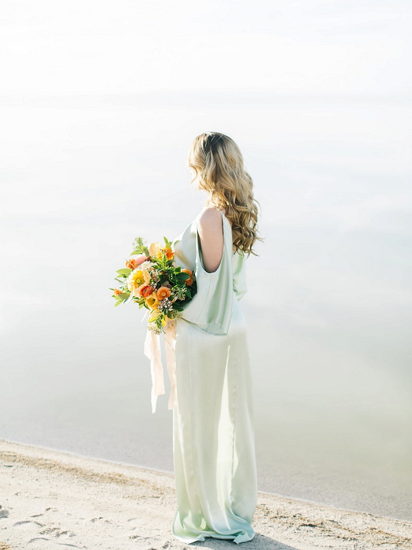 Bride | Tropical Sunrise Coastal Editorial by Kenzie Victory Photography