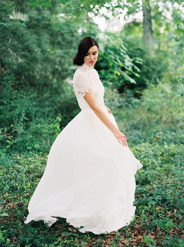 Bridal Gown | Villa Romance By Shannon Moffit Photography