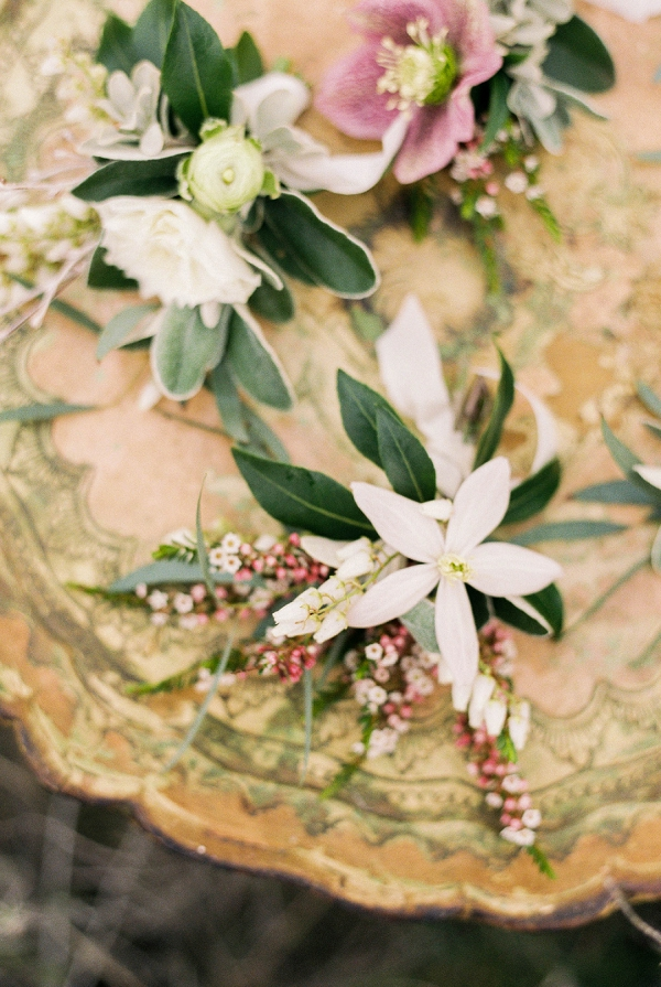 Boutonnieres | Desert and Sage Organic Wedding Inspiration from Kerry Jeanne Photography