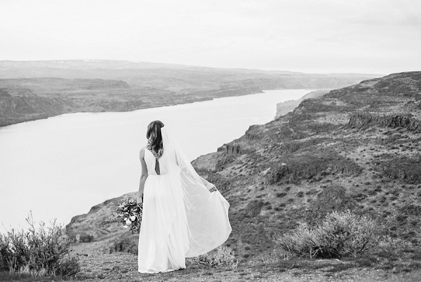 Bride | Desert and Sage Organic Wedding Inspiration from Kerry Jeanne Photography
