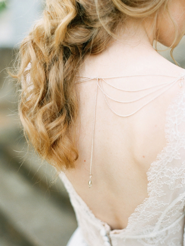 Lace Wedding Dress | Elegant Wedding Inspiration in an Old World Setting by Honey Gem Creative Photography