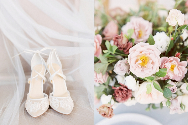 Wedding Shoes | Elegant Wedding Inspiration in an Old World Setting by Honey Gem Creative Photography